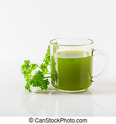 Vegetable juice.