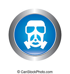 danger zone symbol over white background, vector...