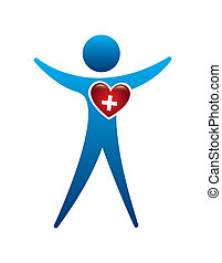 medical heart design