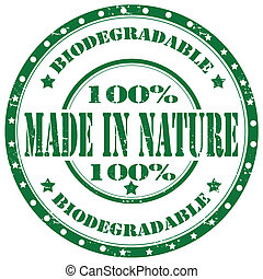 Made in Nature-stamp
