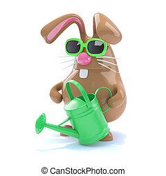 3d Horticultural bunny