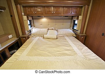 Motorhome Bed - Motorhome Comfortable King Size Bed Inside...
