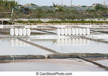 Lagoas, salgado,  aveiro,  PORTUGAL, evaporação