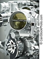 Gas Engine Elements - Shiny Silver Gas Engine Elements...