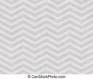 Light Gray and White Zigzag Textured Fabric Background that...