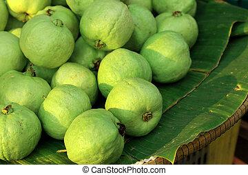 fruta, guayaba, Mercado