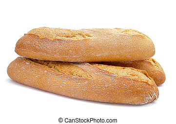 demi baguettes - some demi baguettes or bread rolls on a...