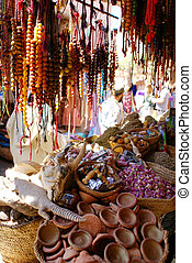 Spicery store in Marrakech - Shop of spicery and decoration...