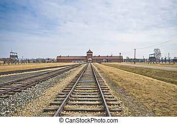 Extermination camp, Auschwitz Birkenau