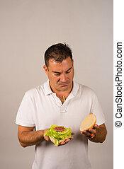 Light burger