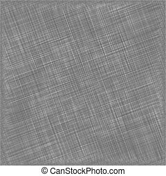 Black Natural Cotton Fabric. Textile Background. Vector
