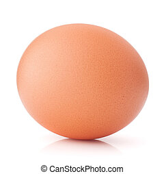 Egg isolated on white background cutout - Egg isolated on...