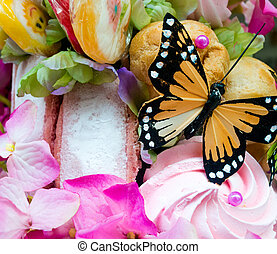 Candy Butterfly 2 - Fake Butterfly in Candy Assortment...