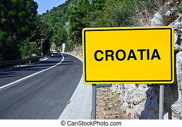 Dubrovnik, Croatia - motorway of Dubrovnik croatia