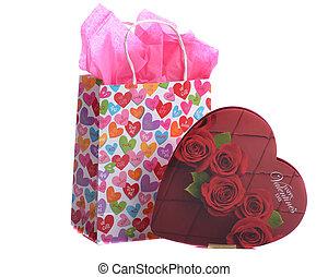 Coração,  valentines,  -, Dia