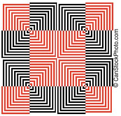Optical illusion for hypnotherapy