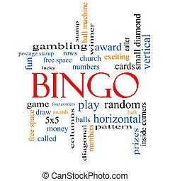 Bingo Word Cloud Concept