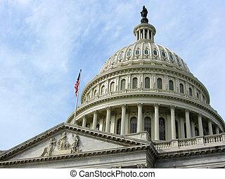 建物, ワシントン, DC, 私達, 国会議事堂