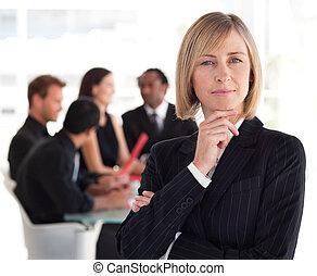Senior Female Business leader - Female Business leader...