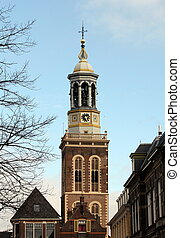 Kampen - The New Tower from 1465 in the center of Kampen....