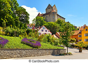 Meersburg Castle at Lake Bodensee, Germany