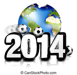 Football 2014 planet earth