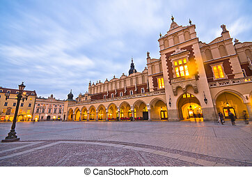 The Main Market Square in Cracow is the most important...