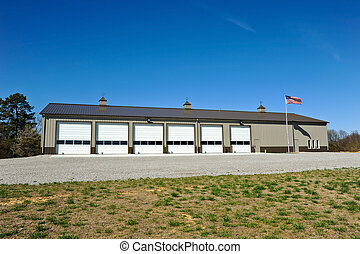 New Fire Station - New Commercial Metal Building to be...