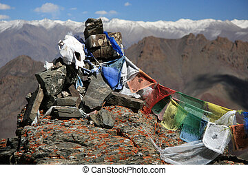 Tibetan Prayer Flags - Himalayas India - Tibetan Prayer...