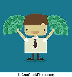 a lot of money