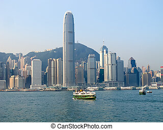 Hong Kong ferry - HONG KONG - DECEMBER 3: Ferry Solar star...
