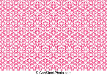 Pink Traditional Japanese Pattern