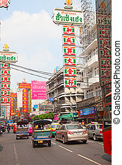 Traffic Jam in Bangkok - BANGKOK - MARCH 3: Daily traffic...