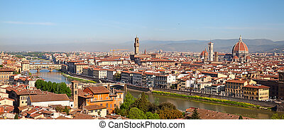 Florence - Panoramic view of the Florence, Italy