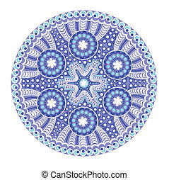 vector, round lace doily background for sewing, arts,...