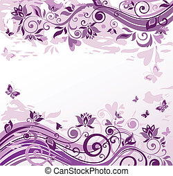 Vintage violet background