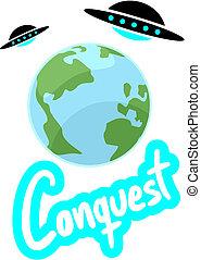 Conquest ovni - Creative desin of conquest ovni