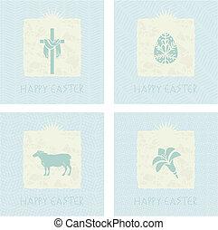 Easter Cards Set