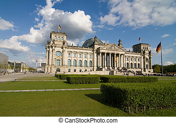 Berlin Reichstag - The Reichstag building in Berlin: German...