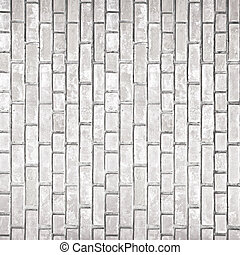 White gray brick wall texture - Old white gray brick wall...