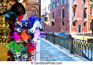 Carnival masks in Venice