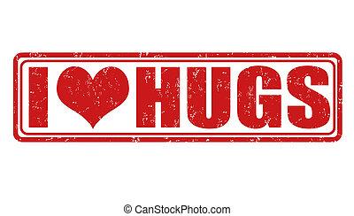 i, Amor, Abraços, selo