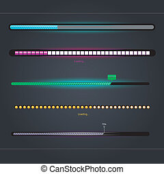Loading - Vector illustration of Loading set eps 10