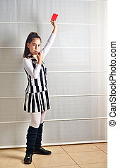 Purim (Halloween): Soccer Referee - An Israeli 12--year-old...