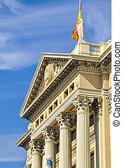 Barcelona landmark, Spain - Barcelona Military Government...