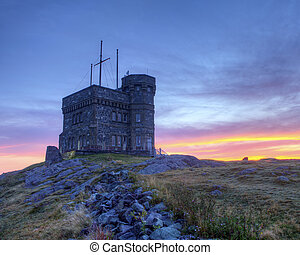 Cabot tower, St Johns, NL, Canada