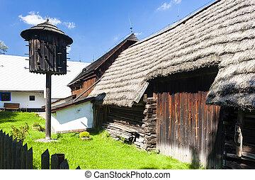 folk museum in Vesely Kopec, Czech Republic