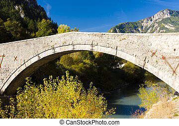 bridge near Castellane, Provence, France