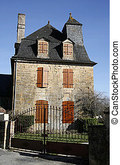 old house - Old stone house in the village of Saillac in...