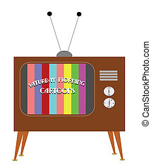 Saturday morning 1955 - morning television on Saturdays in...